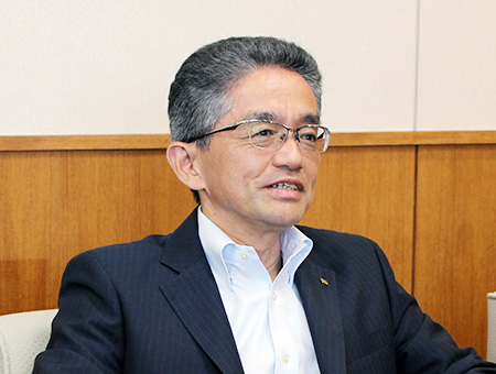日本乾溜工業 代表取締役社長 伊東幸夫氏